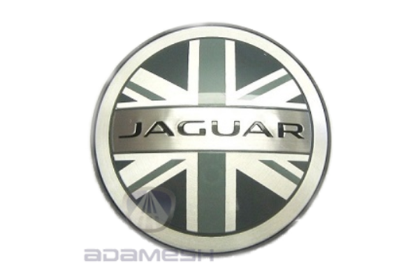 Jaguar Union Jack Flag Wheel Centres